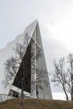 北极大教堂外 库存图片