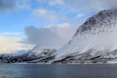 北极挪威 免版税库存照片