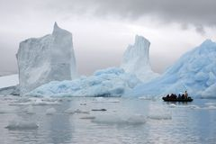 北极旅游业 库存图片