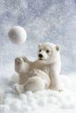 北极熊装饰 库存图片