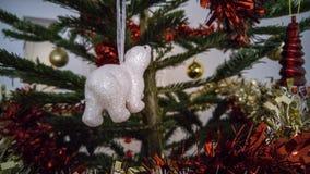 北极熊装饰 免版税库存图片