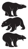 北极熊 库存例证
