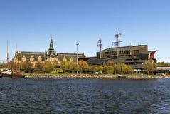 北欧人和脉管船博物馆,斯德哥尔摩 库存照片
