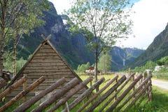 北欧海盗村庄 图库摄影