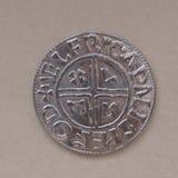 北欧海盗硬币 免版税库存图片