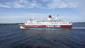北欧海盗线 免版税库存图片