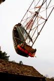 北欧海盗船主题乐园 库存照片