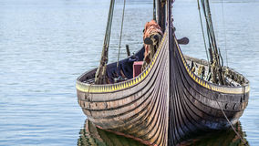 北欧海盗船 库存照片