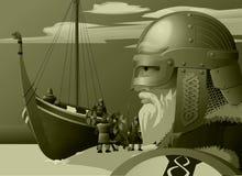 北欧海盗 免版税图库摄影