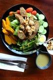 北泰国样式沙拉 库存照片