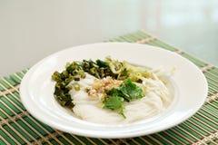 北泰国样式红色咖喱汤用猪肉 库存图片