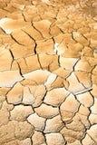 从北泰国的干旱的土地 库存图片
