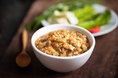 北泰国食物暴民Poo 免版税库存图片