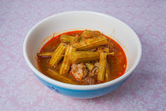 北泰国Marum咖喱Kaeng Marum/Kaeng BaKhon Kom 库存照片