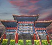 北海公园--一个皇家庭院对故宫的西北部在北京 免版税库存图片