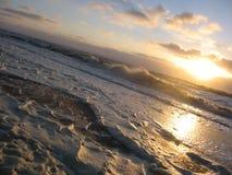 北海冬天 库存照片