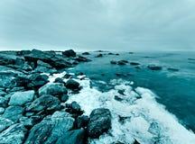 北海岸线 免版税库存图片