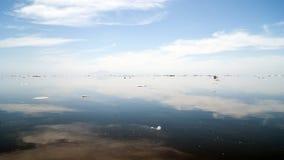 北海岸鄂霍次克海 库存图片
