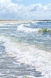北海波浪 库存照片