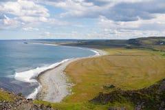 北海海岸,晴朗的天气 免版税库存图片