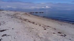北海海滩 免版税图库摄影