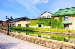 北海道小樽 免版税库存照片