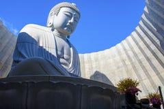 北海道日本- october8,2018 :在hil的日本佛教雕象 免版税库存照片