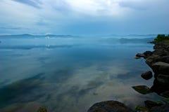 北海道湖toya 免版税图库摄影
