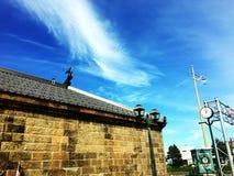 北海道的小樽老仓库 库存图片