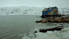 北海,水的冰议院 股票视频