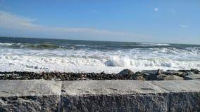 北海滩大西洋 图库摄影
