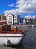 北港口,赫尔辛基,芬兰 免版税库存照片