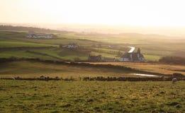 北爱尔兰的农村乡下 库存图片