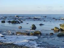 北的海岸 免版税库存图片