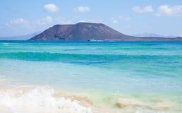 北的费埃特文图拉岛 免版税库存图片