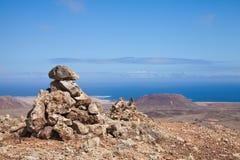 北的费埃特文图拉岛 免版税库存照片