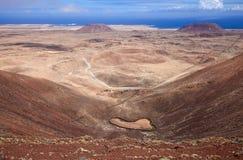 北的费埃特文图拉岛 库存照片