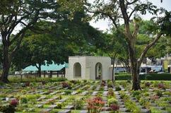 北碧战争公墓(唐Rak) 库存照片