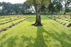 北碧战争公墓(唐Rak) 免版税库存照片