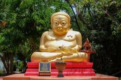 北碧泰国- 2017年5月15日, :在凹陷的Tuek寺庙 免版税库存图片