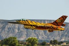 北约老虎集会F-16战斗机 免版税库存照片