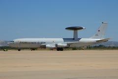 北约E-3哨兵雷达飞机 免版税库存图片