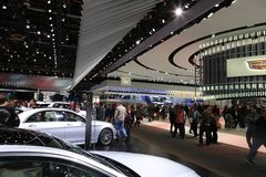 2017年北美国际汽车展 免版税图库摄影
