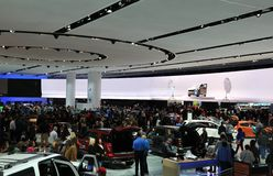 2017年北美国际汽车展 免版税库存图片