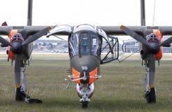 北美洲罗克韦尔OV-10野马 库存照片