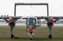 北美洲罗克韦尔OV-10野马 库存图片