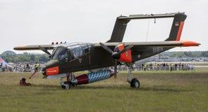 北美洲罗克韦尔OV-10野马 图库摄影