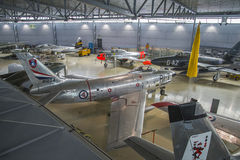 北美洲f-86军刀 图库摄影