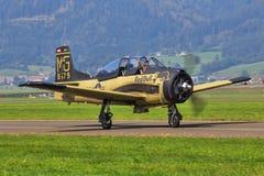北美T-28B 图库摄影