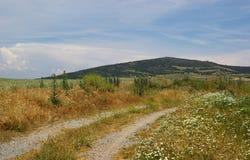 北西班牙的风景 图库摄影